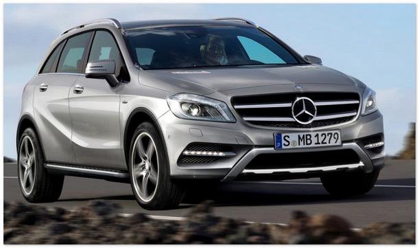 Кроссовер Mercedes Benz GLA