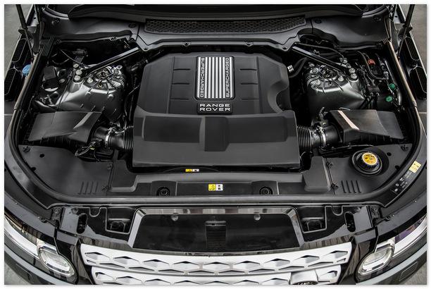 Двигатель Range Rover 2014