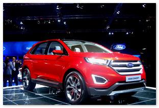 Новый Ford Edge 2014