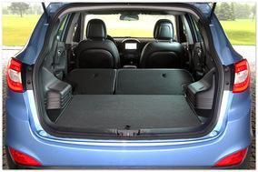 Фото багажника Hyundai IX 35 2014 года