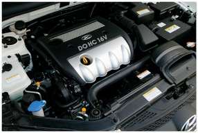 Фото двигателя DOHC Hyundai Santa Fe 2013