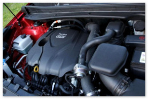 Фото двигателя Киа Спортейдж 2014