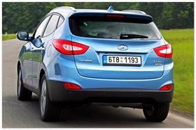 Фото обновленного Hyundai ix35 (вид сзади)