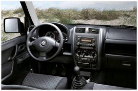 Фото приборной панели Suzuki Jimny