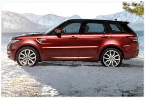 Новый Rover Вид Сбоку