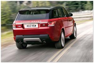 Обновленный Range Rover Вид Сзади