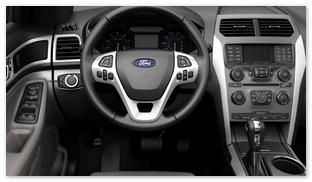 Приборная панель Ford Explorer 2014