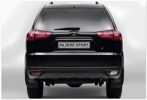 Рестайлинг Mitsubishi Pajero 2014 (задняя часть)