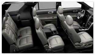 Салон нового Ford Explorer