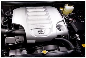 Двигатель нового Toyota Land Cruiser 200