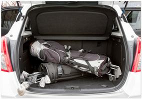 фото багажника Opel mokka 2014