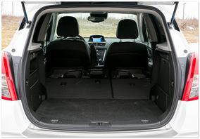 Фото багажника нового Opel mokka
