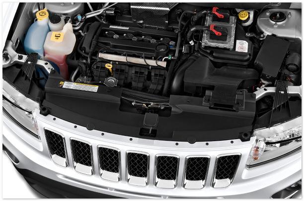Фото двигателя Jeep Compass 2014