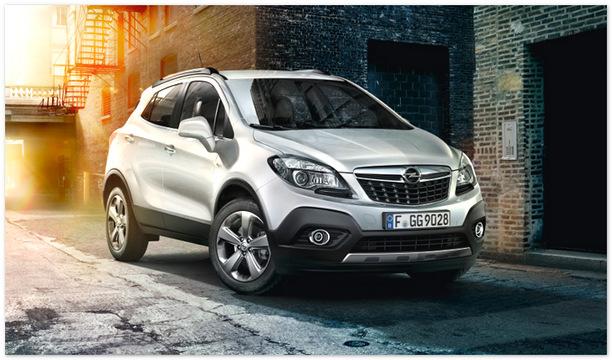 Фото нового Opel mokka 2014 года