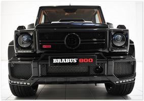 фото Brabus 800 Widestar (вид спереди)