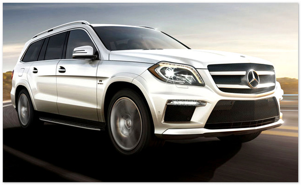 фото  Mercedes-Benz Gl 2014