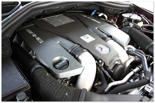 фото двигателя Mercedes Gl 2014