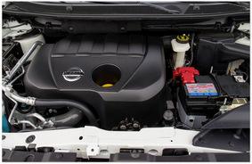 фото двигателя Nissan Qashqai 2014 -1.7 литра