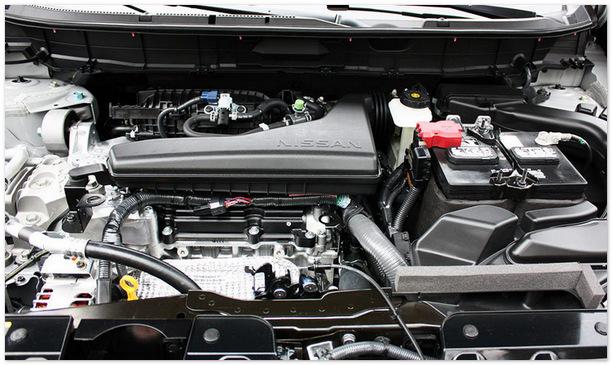 фото двигателя нового Ниссан Х-Трейл