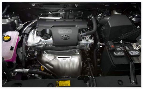 фото двигателя Тойота Рав 4 2014