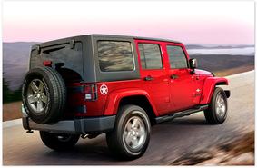 фото обновленного Jeep Wrangler Rubicon