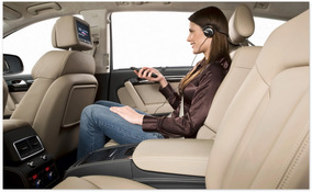 фото задних сидений Audi Q7