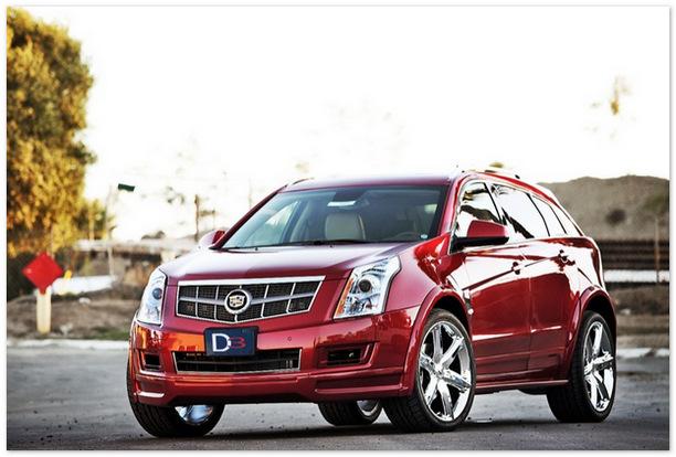 Cadillac SRX 2014 (вид спереди)