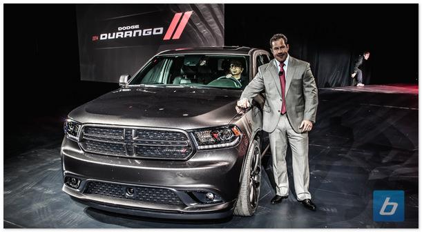 Dodge durango 2014 (вид спереди)