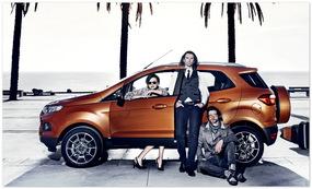Ford Ecosport 2014 (вид сбоку)