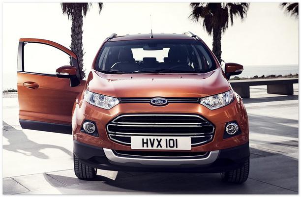 Ford Ecosport 2014 (вид спереди)