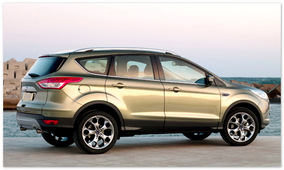 Ford Kuga 2014 (вид сбоку)
