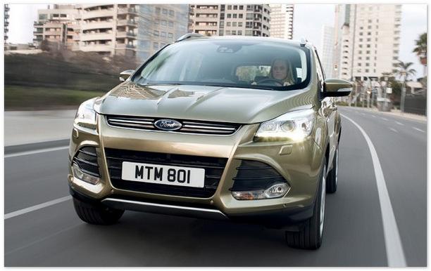 Ford Kuga 2014 (вид спереди)