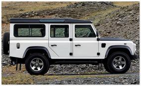 Land Rover Defender 110 2 -ое поколение (вид сбоку)
