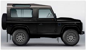 Land Rover Defender 90 (вид сбоку)