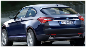 фото BMW X2(вид сзади)