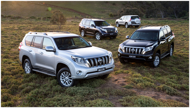 фото Toyota Land Cruiser Prado 2014