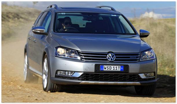 фото Volkswagen Passat Alltrack(вид спереди)