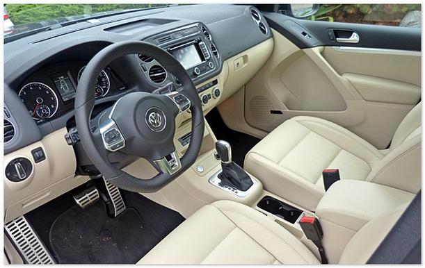 фото салона Volkswagen Tiguan 2014