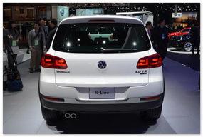 фото Volkswagen Tiguan 2014(вид сзади)