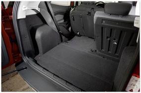 фото багажника Ford Ecosport 2014