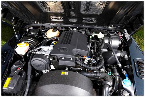 фото двигателя Land Rover Defender 110