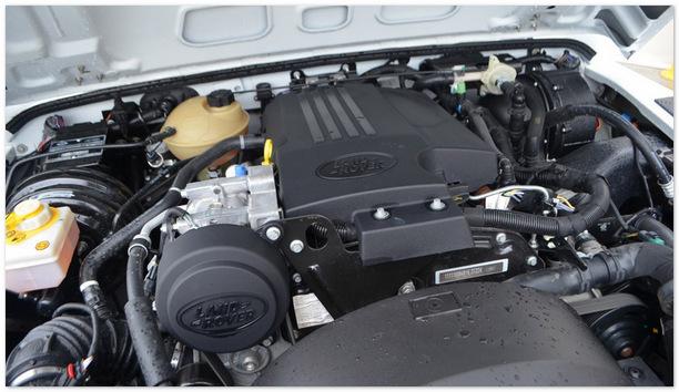 фото двигателя Land Rover Defender 90
