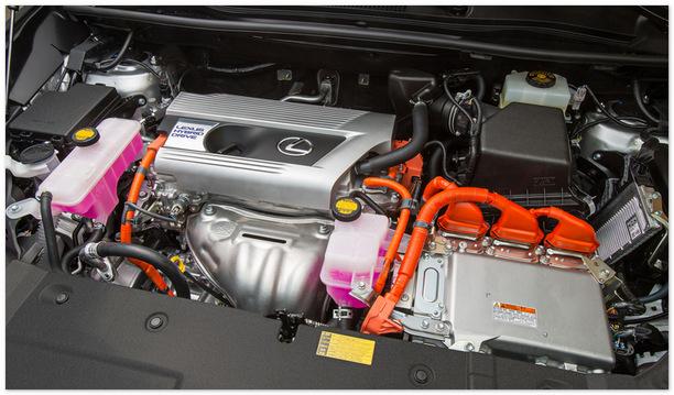 фото двигателя Lexus NX 2014