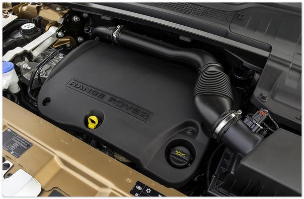 фото двигателя Range Rover Evoque 2014