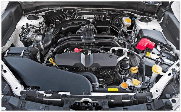 фото двигателя Субару Трибека 2014