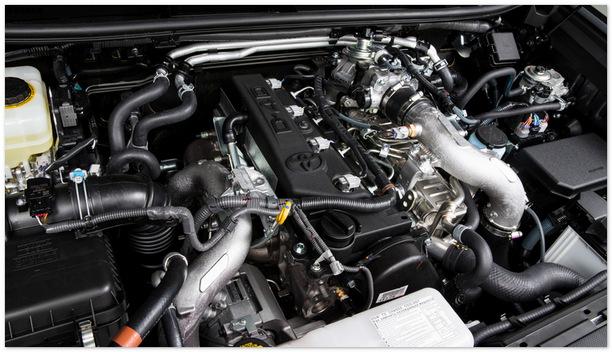 фото двигателя Toyota Land Cruiser Prado 2014