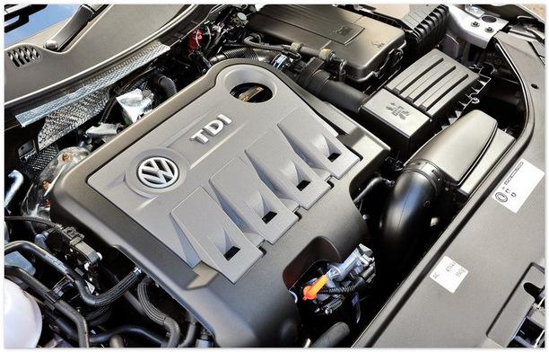 фото двигателя Фольксваген Пассат Олтрек 2013-2014