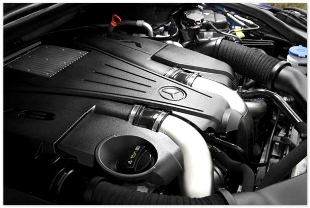 фото двигателя mercedes gl500