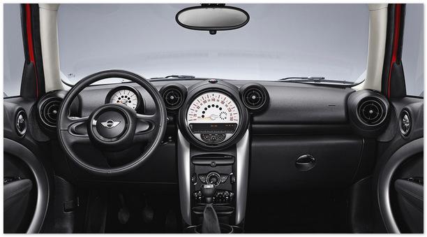 фото панели управления Mini Countryman 2013