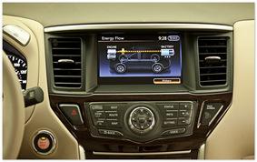 фото приборной панели Nissan Pathfinder 2014